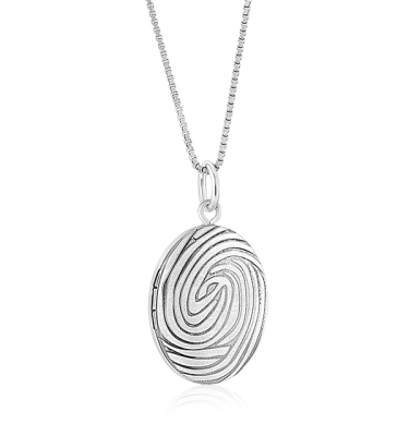 LE0100 Oval locket
